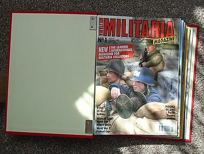 Militaria Magazine - Complete 25 issue collection of the English language versio