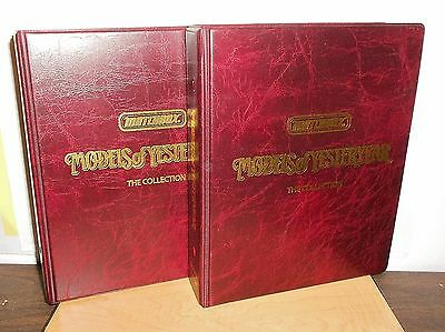 """Matchbox Models of Yesteryear """"THE COLLECTION"""" 2 volumes with all 3 Supplements"""