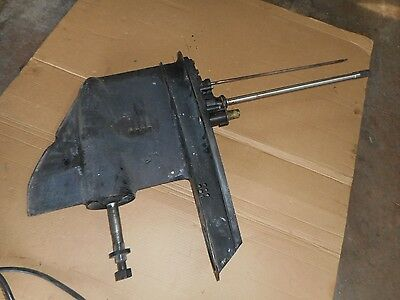 Johnson Evinrude OMC Outboard Motor Six Cyl Lower Unit 1976