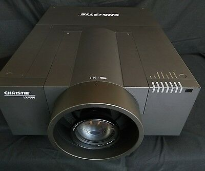 Christie LX1000 Multimedia Projector,  Large Venue Projector, long throw lens