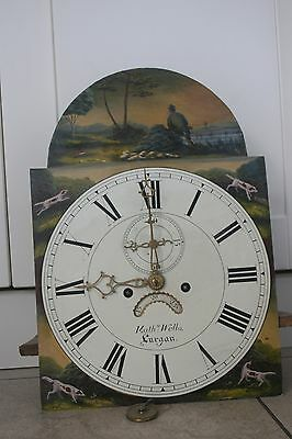 8 Day Longcase Dial And Works