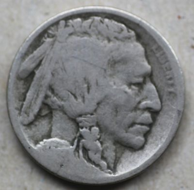 1913S Buffalo Nickel, Type1