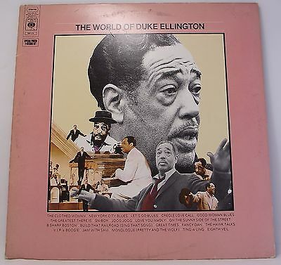 DUKE ELLINGTON : THE WORLD OF Double Album Vinyl LP 33rpm Excellent
