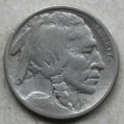 1913D Buffalo Nickel, Type1