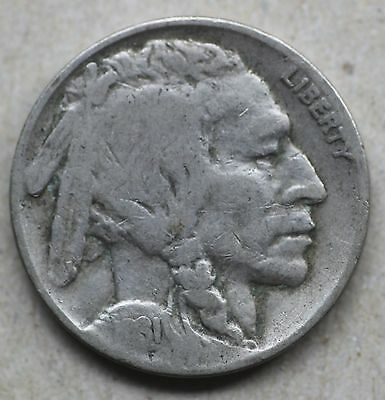 1931S Buffalo Nickel