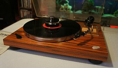 Pioneer pl-512 turntable, record player with free record stabilazer