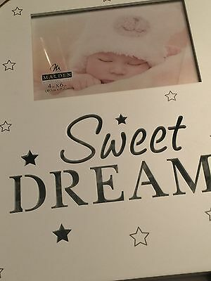 "New Baby Gift Sweet Dreams Baby Picture Frame 4x6  Stars "" LIGHTS UP"" $39.99"