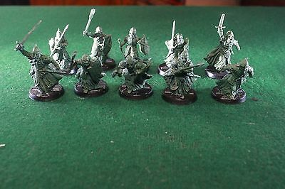 warhammer games workshop lord of the rings army of the dead built painted x 10