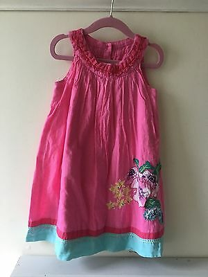 Baby Girls pink summer dress age 18-24 months Monsoon