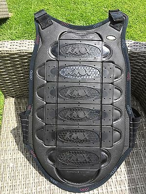 motorcycle back protector  knox size small