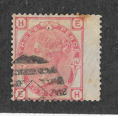 Great Britain Sg 144 Pl + 166 + 160 Plate 18 Space Filler Used See Scans