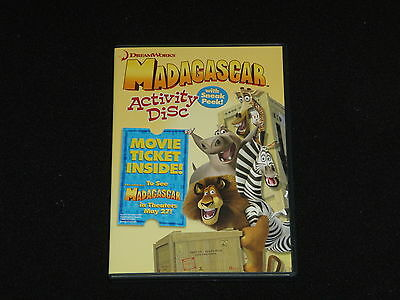 Madagascar Activity Kit DVD