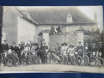 RARE CARTE PHOTO de PLEUMARTIN VIENNE 86
