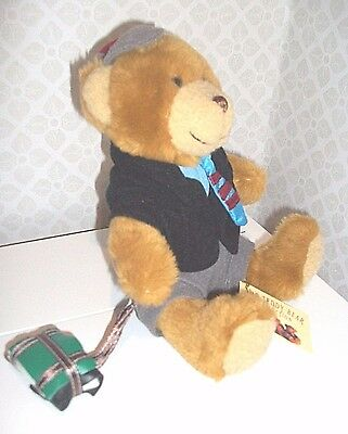 SAM THE SCHOOLBOY by The Teddy Bear Collection - soft toy student/ teacher  NEW