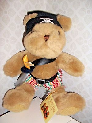 PEDRO THE PIRATE by The Teddy Bear Collection - soft toy NEW