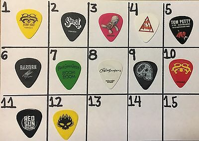 One Pierce The Veil 2017 Tour Used Guitar Pick #9
