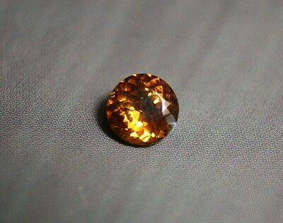 1ct Honey Mali Garnet - Precision Cut Portuguese Round