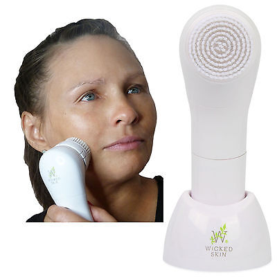 Sonic Facial Cleansing Brush Skin Care Waterproof Face Massage Wrinkle Remover