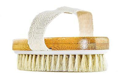 GranNaturals Hand Size Dry Body Brush Skin and Face Improve Blood...