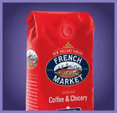 French Market Coffee and Chicory (FOUR 12-Ounce Bags)