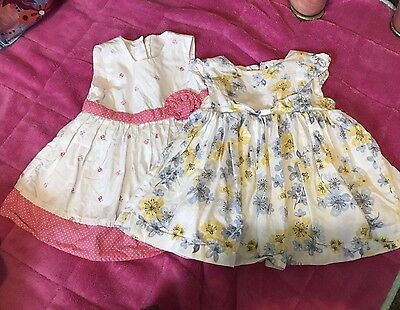 Baby Girls Summer Dress Matalan 0-3 Months