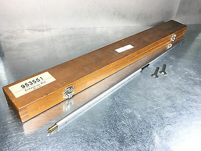 """Mitutoyo Bore Gage 500mm (20"""") Extension Rod, 511 Series, 953551"""
