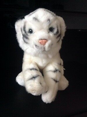 Animal Alley White Tiger Soft Cuddly Plush Toy