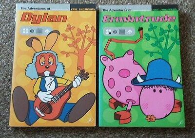 2 Magic Roundabout Books. Dylan And Ermintrude.