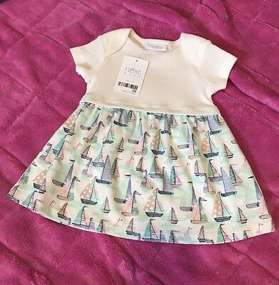 New Next Baby Girls Dress 0-3M