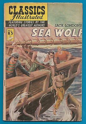 Classics Illustrated Comic 1964  Sea Wolf  by Jack London  #924