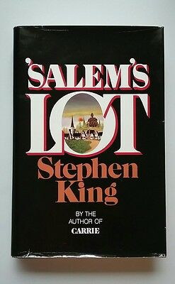 Stephen King Salem's Lot First Edition Doubleday Hardcover