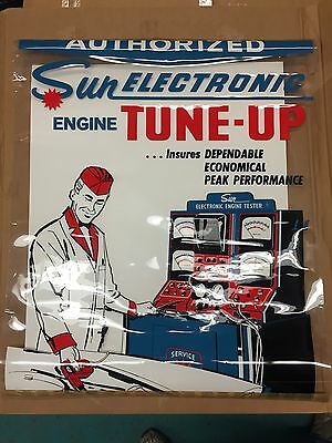 Vintage Sun 750 820 Electronic Scope Diagnostic NOS poster