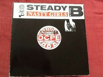 "Steady B - Nasty Girls - 12"" - Rare - Hiphop - Old school"