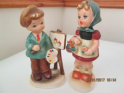 Vintage Pair of Figures