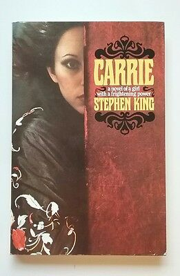 Carrie by Stephen King - First Edition - very good shape
