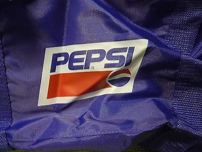 Blue Collapsible Pepsi Duffle Bag New