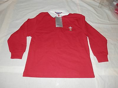 5 x WALES REEBOK WELSH RUGBY SHIRTS JUNIOR SMALL