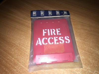 Aircraft Parts BAC 1-11 ROLLS ROYCE SPEY FIRE ACCESS PANEL
