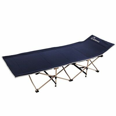 Wolfwise Folding Camping bed Portable Outdoor Camping Cot furniture Heavy Duty