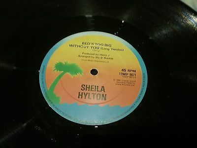 Sheila Hylton.bed's Too Big Without You.12'' Vinyl