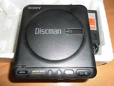 Sony D-22 Discman Portable Cd Player Tested & Plays Well Vgc