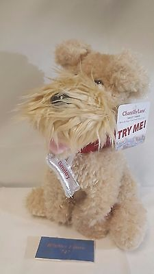 """NEW! Chantilly Lane 12"""" Smiley the Terrier Sings """"Can't Smile Without You"""""""