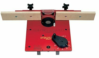 Xacta Lift Router Insert with Deluxe Fence (JET 708124)