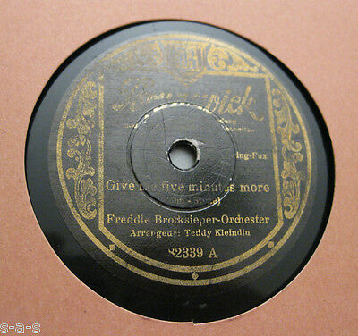Nice Price: Freddie Brocksieper - Give Me Five Minutes More / I Know That You...