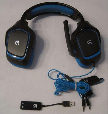 Logitech G430 DTS 7.1 Surround Sound Gaming Headset   FREE SHIPPING