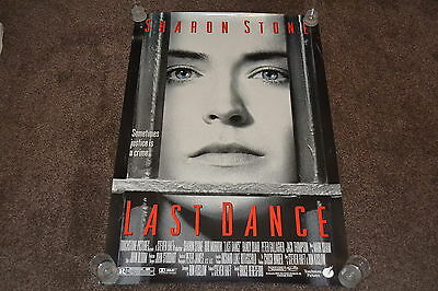 LAST DANCE - original 1996 US one sheet cinema Poster - Sharon Stone