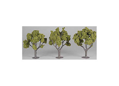 Woodland Scenics Asmbld Tree Light Green 4-5  (3) WOOTR1509