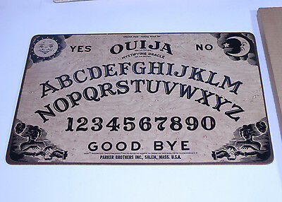 Vintage William Fuld Wooden Ouija Board Minty Game Oracle Haunted W/Box Rare