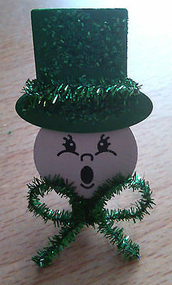 Handcrafted Leprechaun Pin Brooch - St. Patricks Day