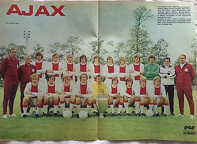 AJAX / JOHAN CRUYFF magazine article collection
